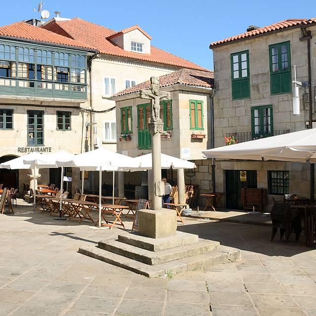 Pontevedra, la vida en las plazas