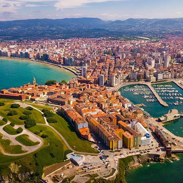 Gijón, la vida a lo grande