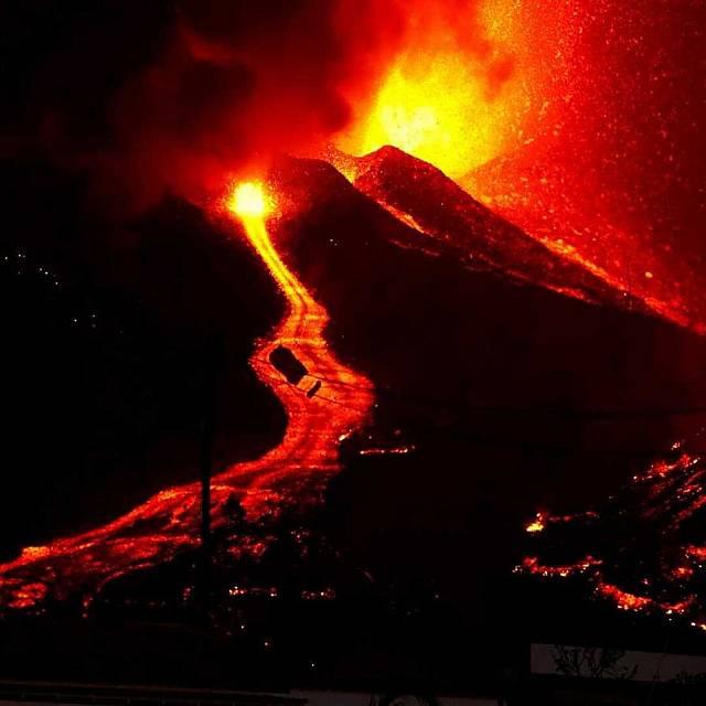Todo lo que rodea a un volcán