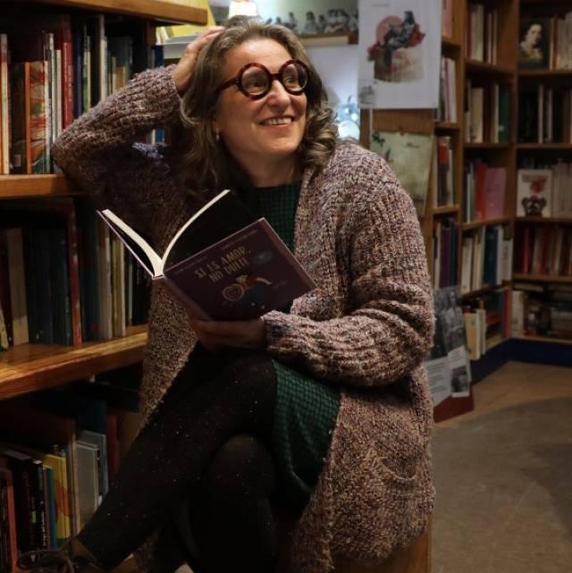 Alba Varela, dueña de la librería de mujeres de Madrid