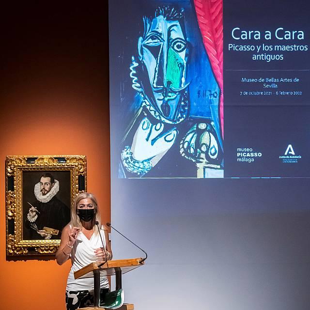 Picasso, cara a cara con los maestros antiguos, en Sevilla