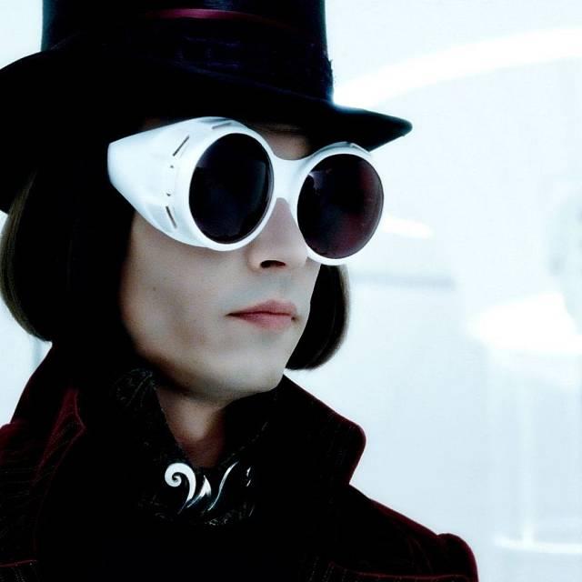 Johnny Depp en 'Charlie y la fábrica de chocolate'