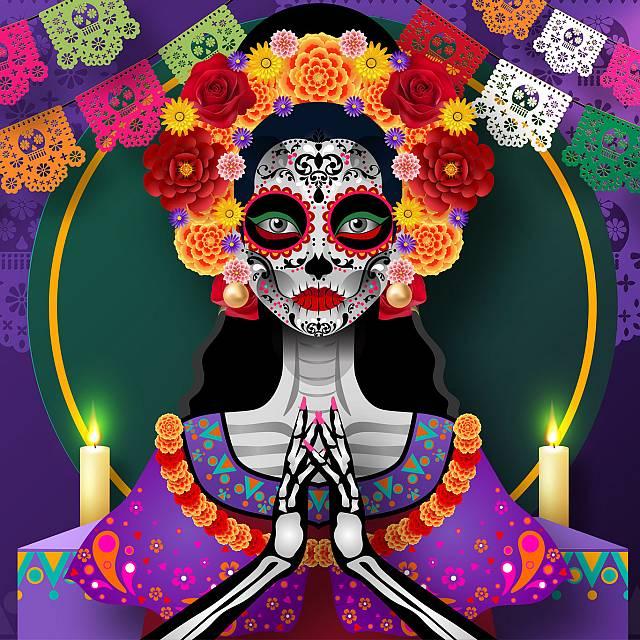 Día de todos los muertos, de México al Camino de Santiago