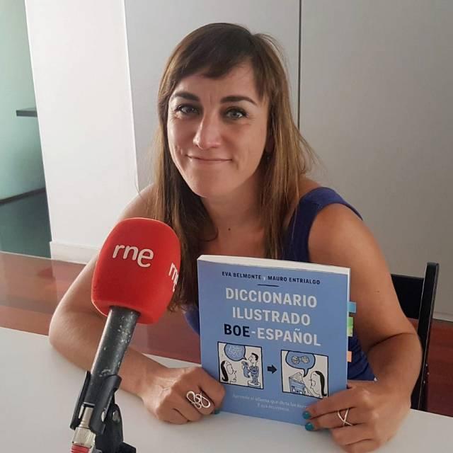 Eva Belmonte nos presenta el Diccionario BOE-Español