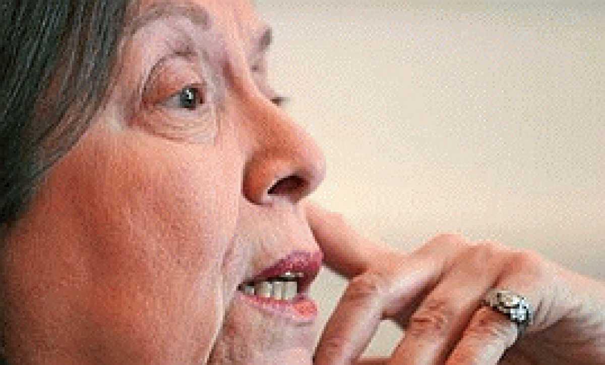 La escritora Nélida Piñón, primera galardonada con El Ojo Crítico ...
