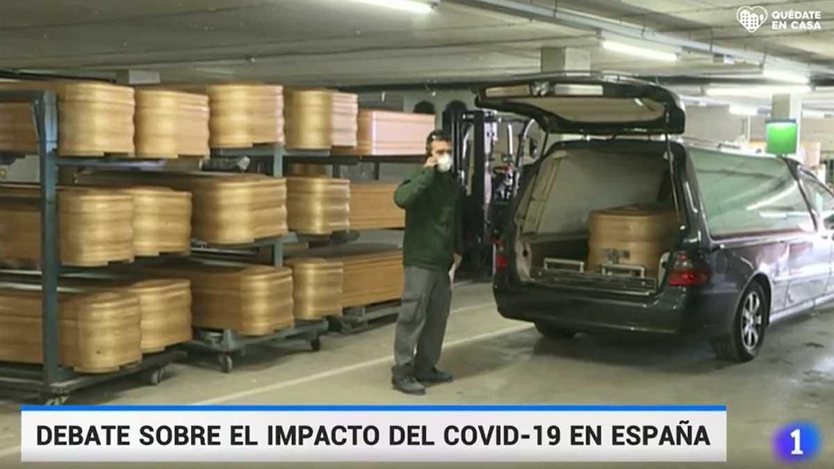"""Vox acusa en falso a TVE de """"esconder"""" los ataúdes de las víctimas ..."""