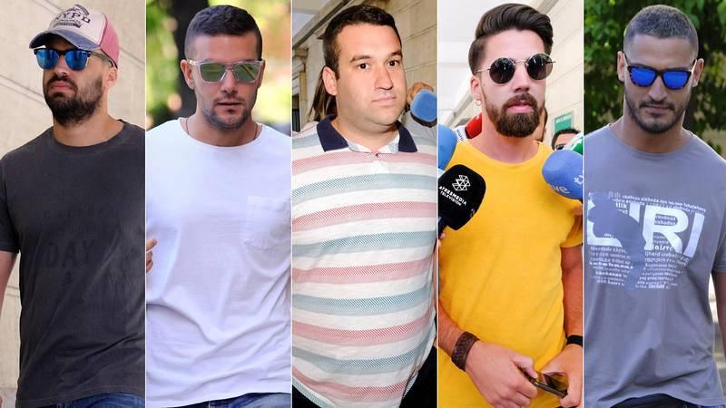 Quiénes son los cinco miembros de La Manada