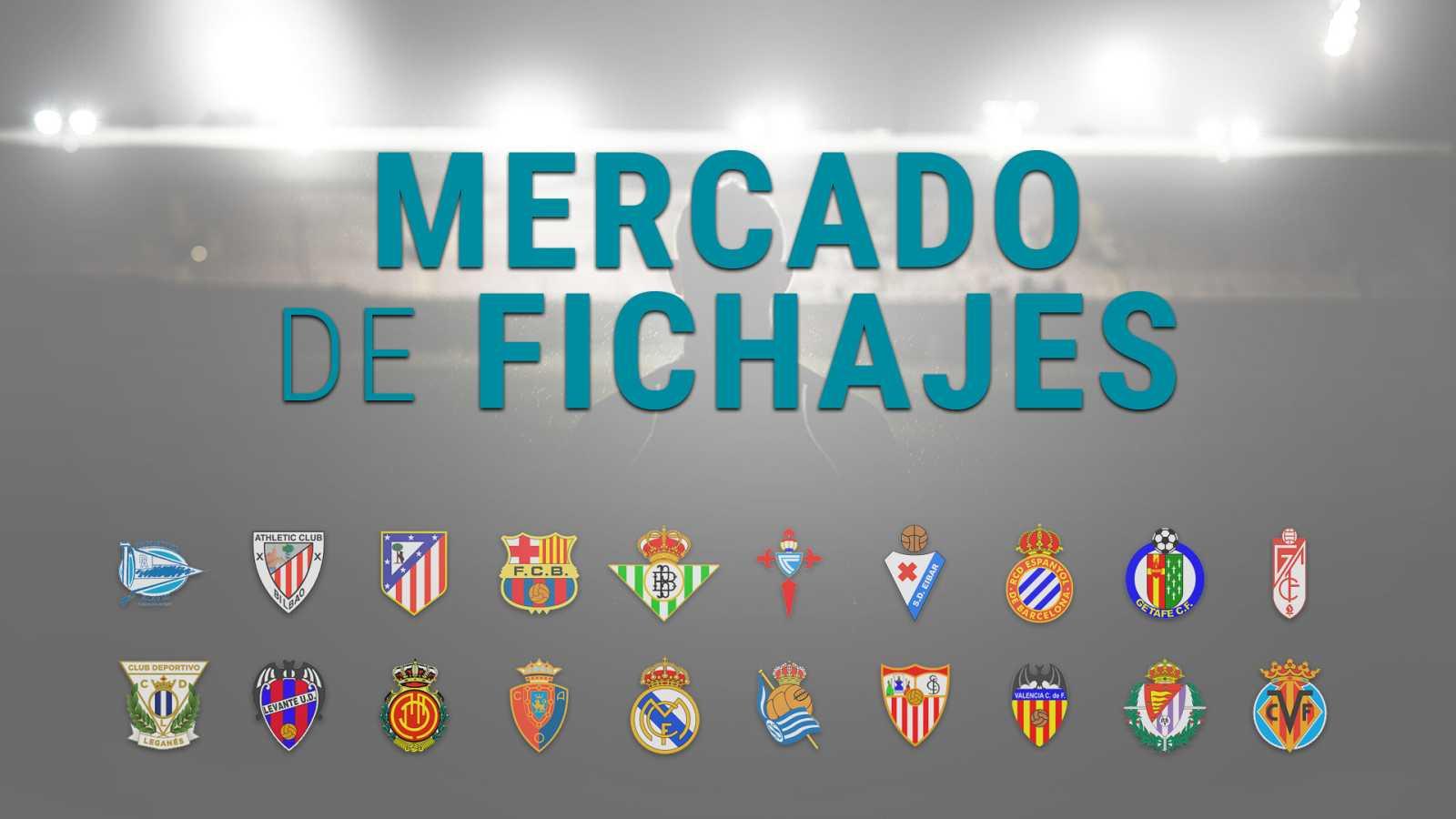 Fichajes de Fútbol - Altas y Bajas de los equipos de la Liga Santander