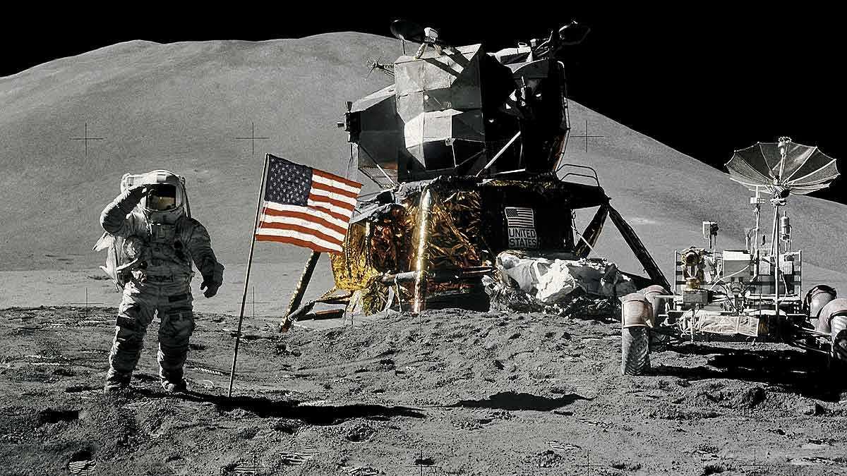 Los 12 hombres que pisaron la Luna