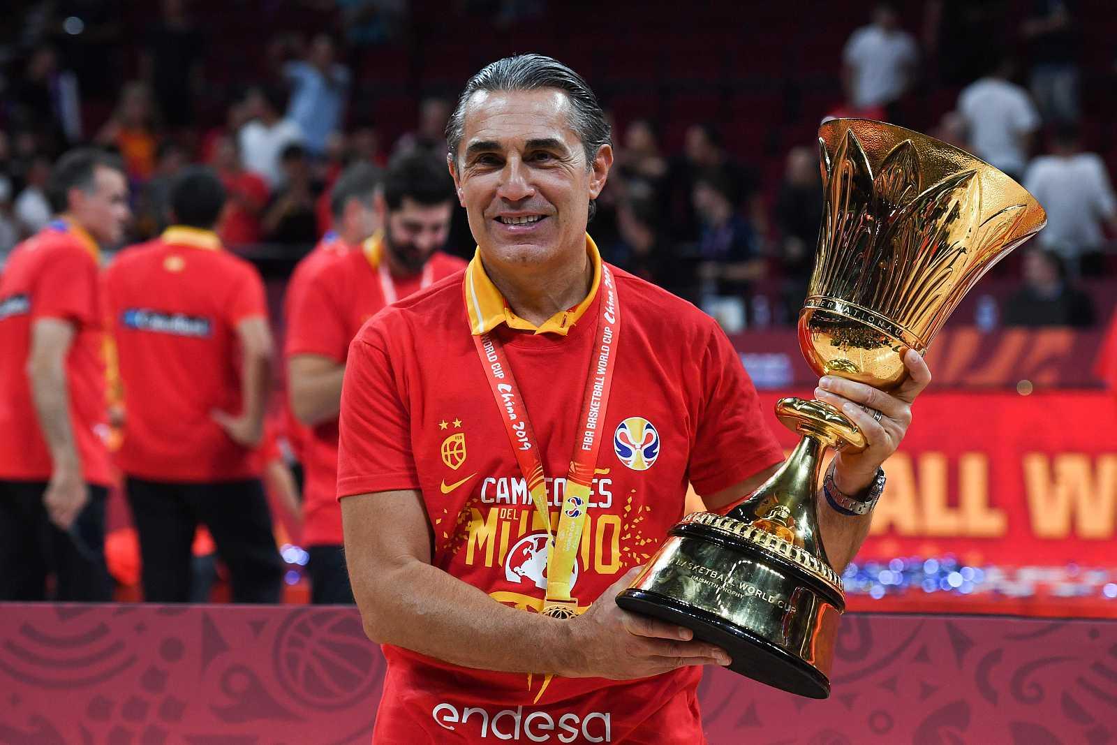 Sergio Scariolo, el hombre que ancló a España en el podio