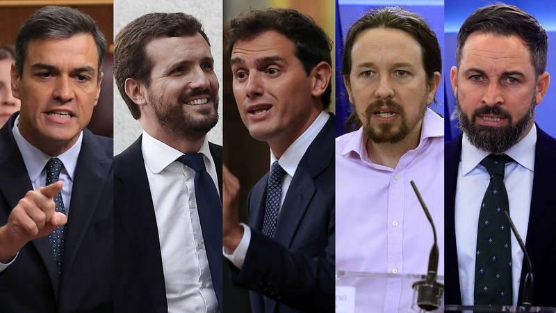 Elecciones generales líderes