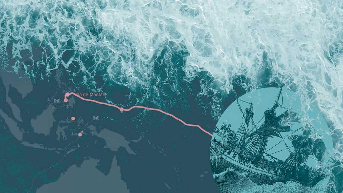 Revive la primera vuelta al mundo de Magallanes y Elcano