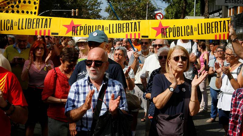 Directo: Cataluña - Segundo aniversario del referéndum del 1-O