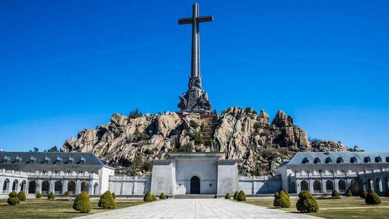 Imagen de archivo del monumento del Valle de los Caídos