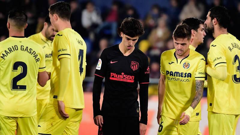 Villarreal y Atlético siguen atascados