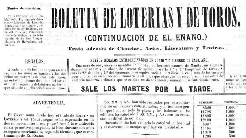 Boletin de Loterías y de Toros