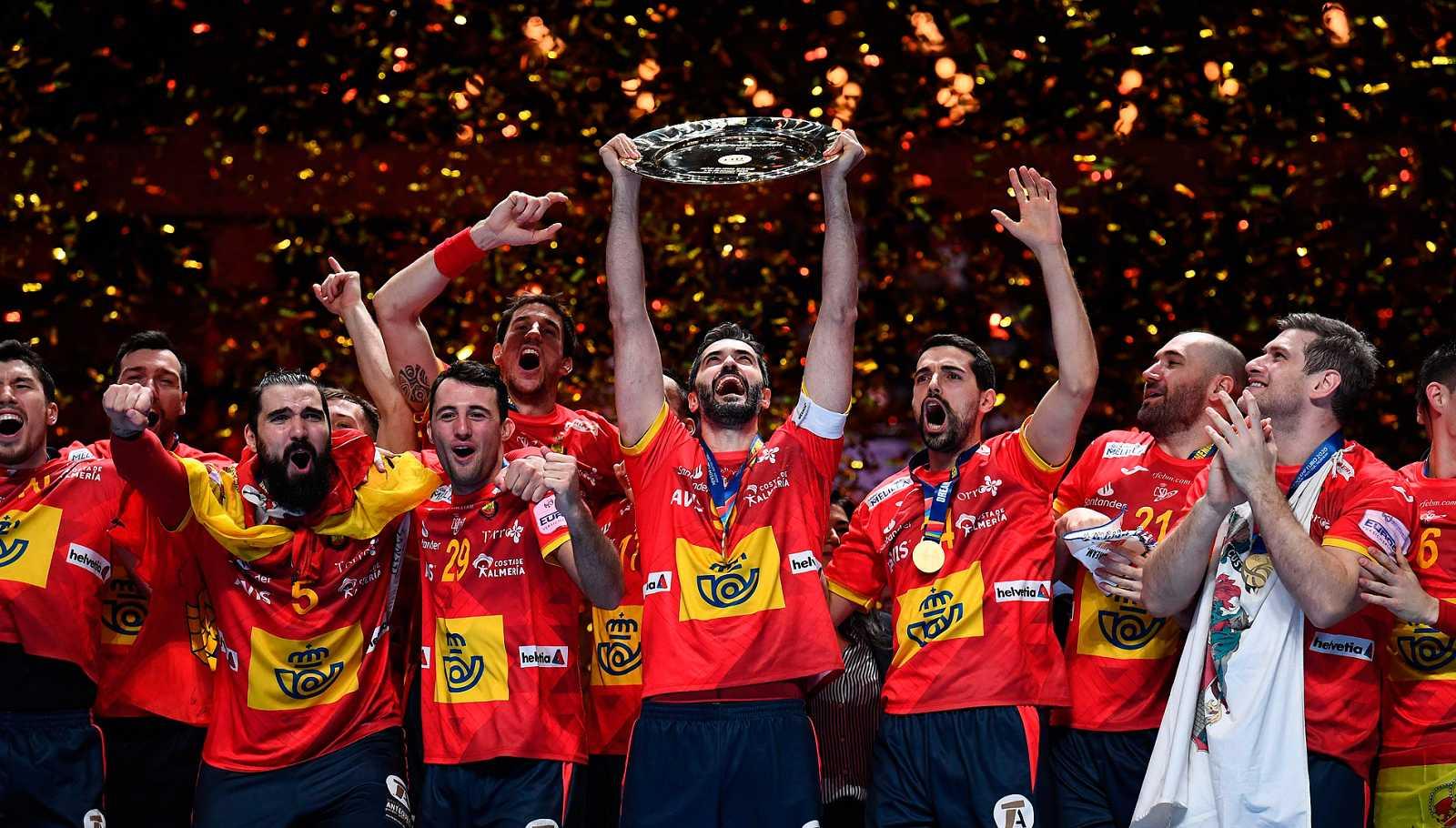 España revalida su título de campeona de Europa