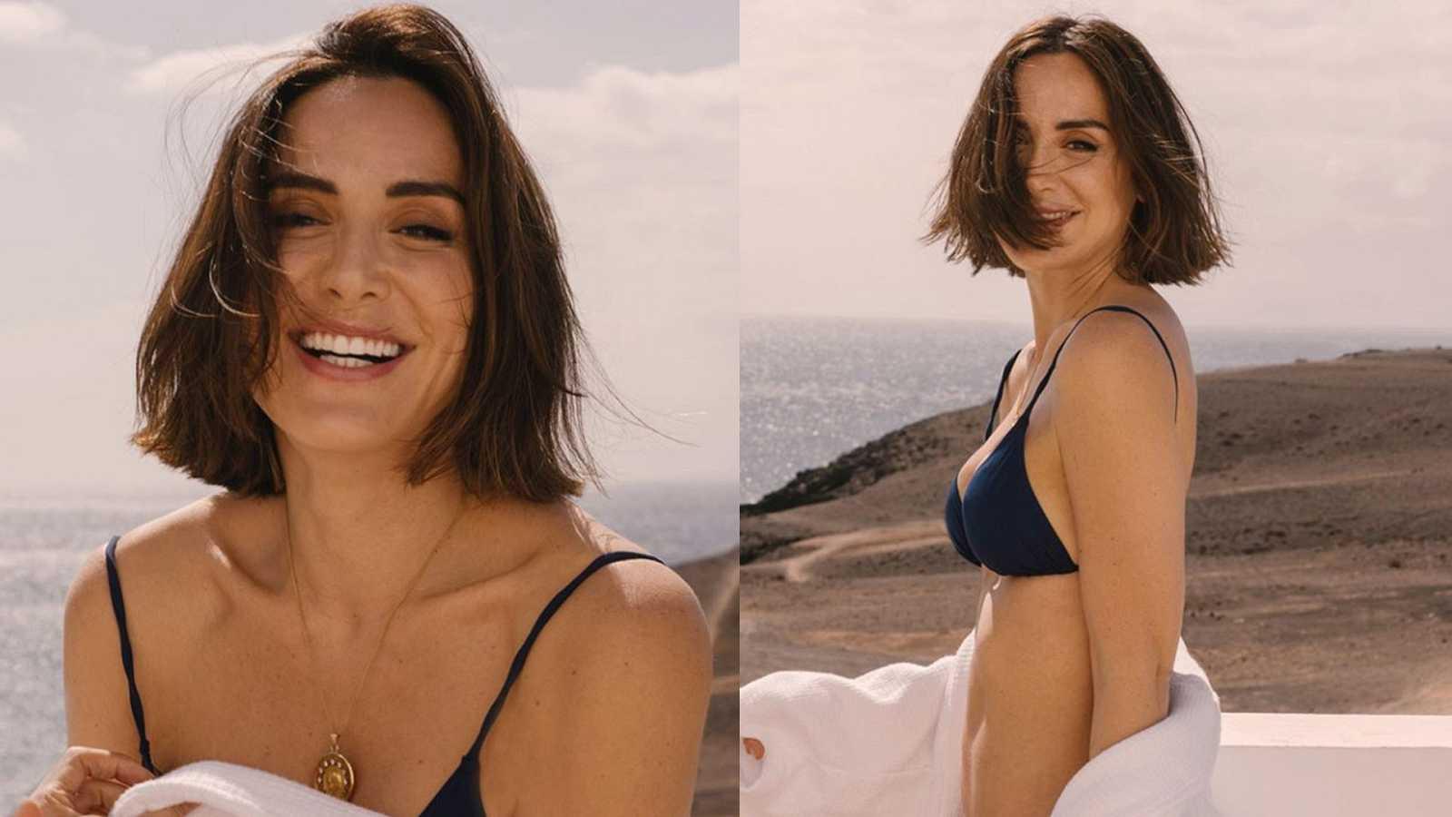 Tamara Falcó sorprende con un posado en bikini desde Lanzarote