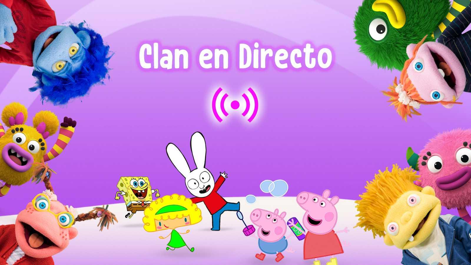 Sigue ya en directo tus programas favoritos de Clan
