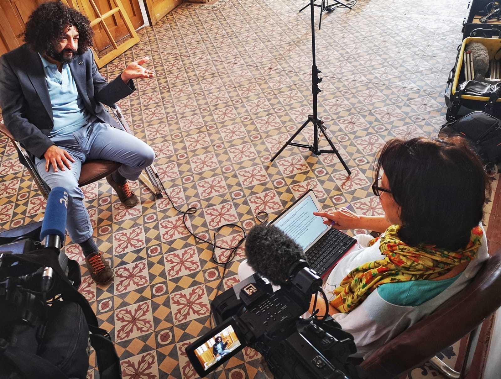 El cineasta irakí , Mohamed Al-Daradji, habla con 'En Portada'