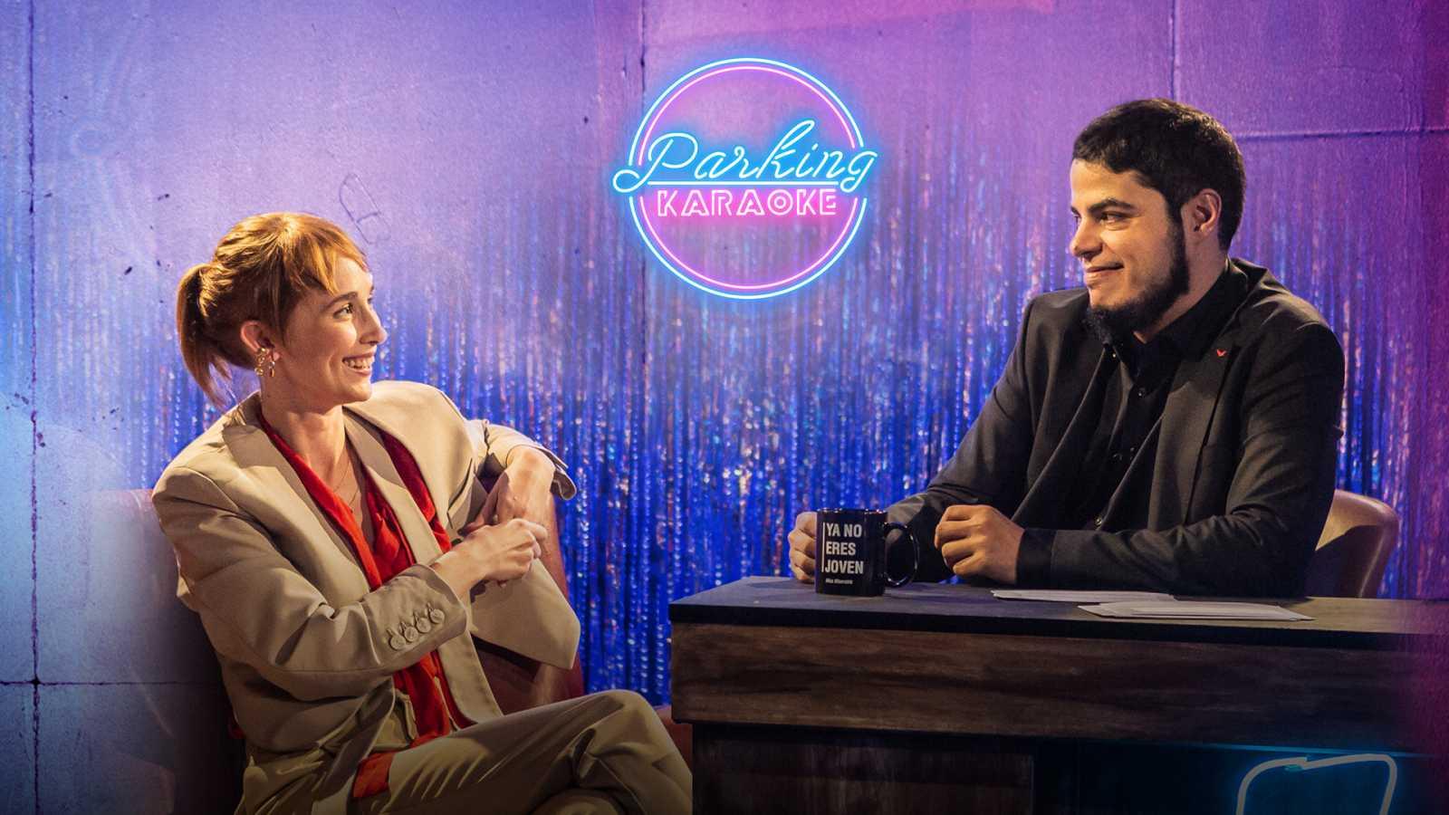 Ingrid García-Jonsson, la reina de los late nights, llega a 'Parking Karaoke' para darle caña a David Sainz