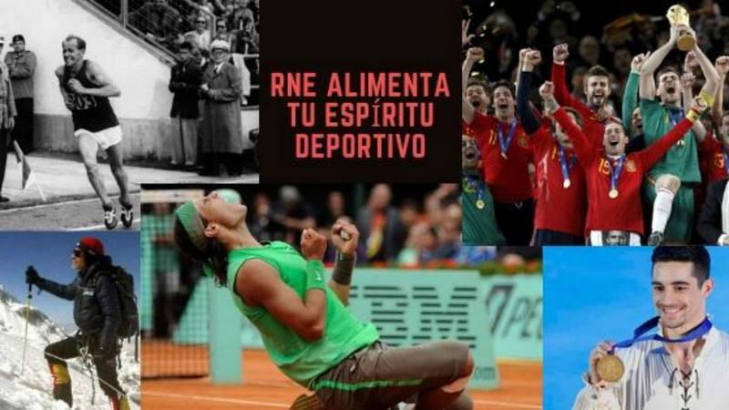 Revive grandes hitos y victorias deportivas en compañía de RNE.