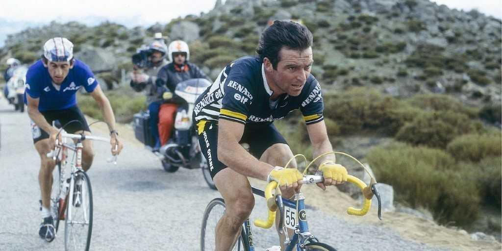 Bernard Hinault en la Vuelta de 1983