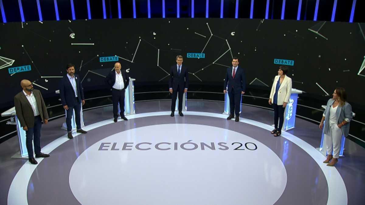 """Feijóo defiende un gobierno de """"unidad"""" frente a una izquierda que se ve """"compatible"""" en la Xunta"""