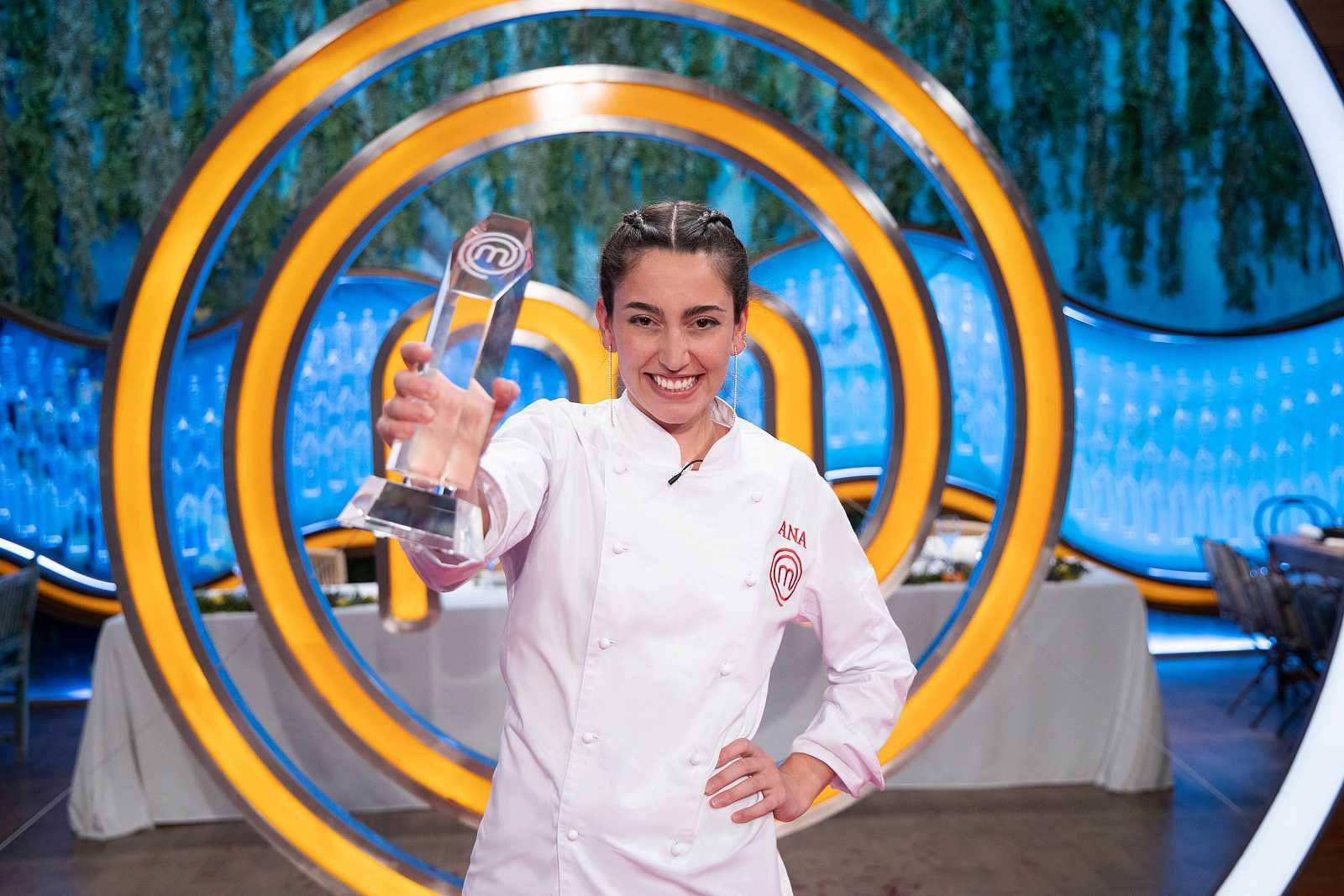 Ana, ganadora de 'MasterChef 8'