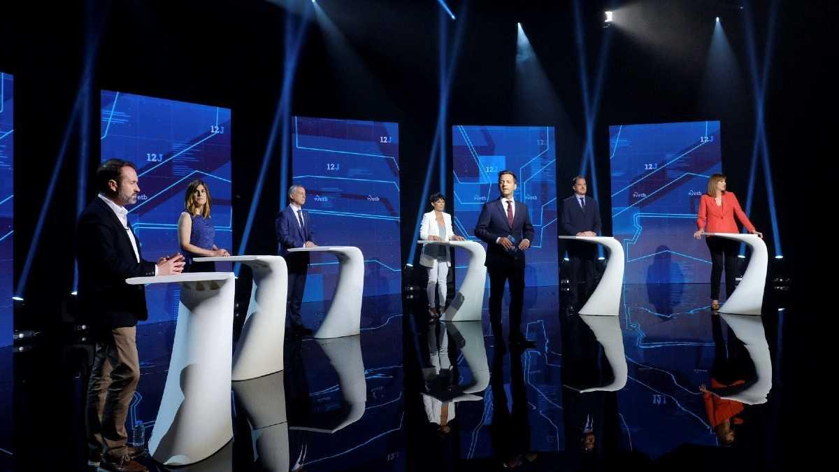 Los candidatos vascos discrepan en la respuesta económica ante la Covid-19 y se reservan la carta de los pactos