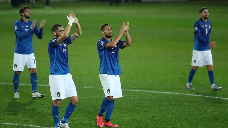 Italia, rival de España en la Nations League.