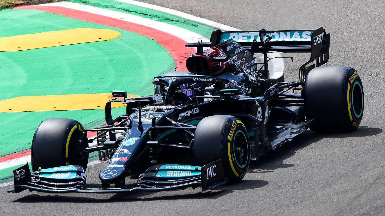La actualidad deportiva, en directo en RTVE.es: Hamilton consigue la 'pole' en Imola
