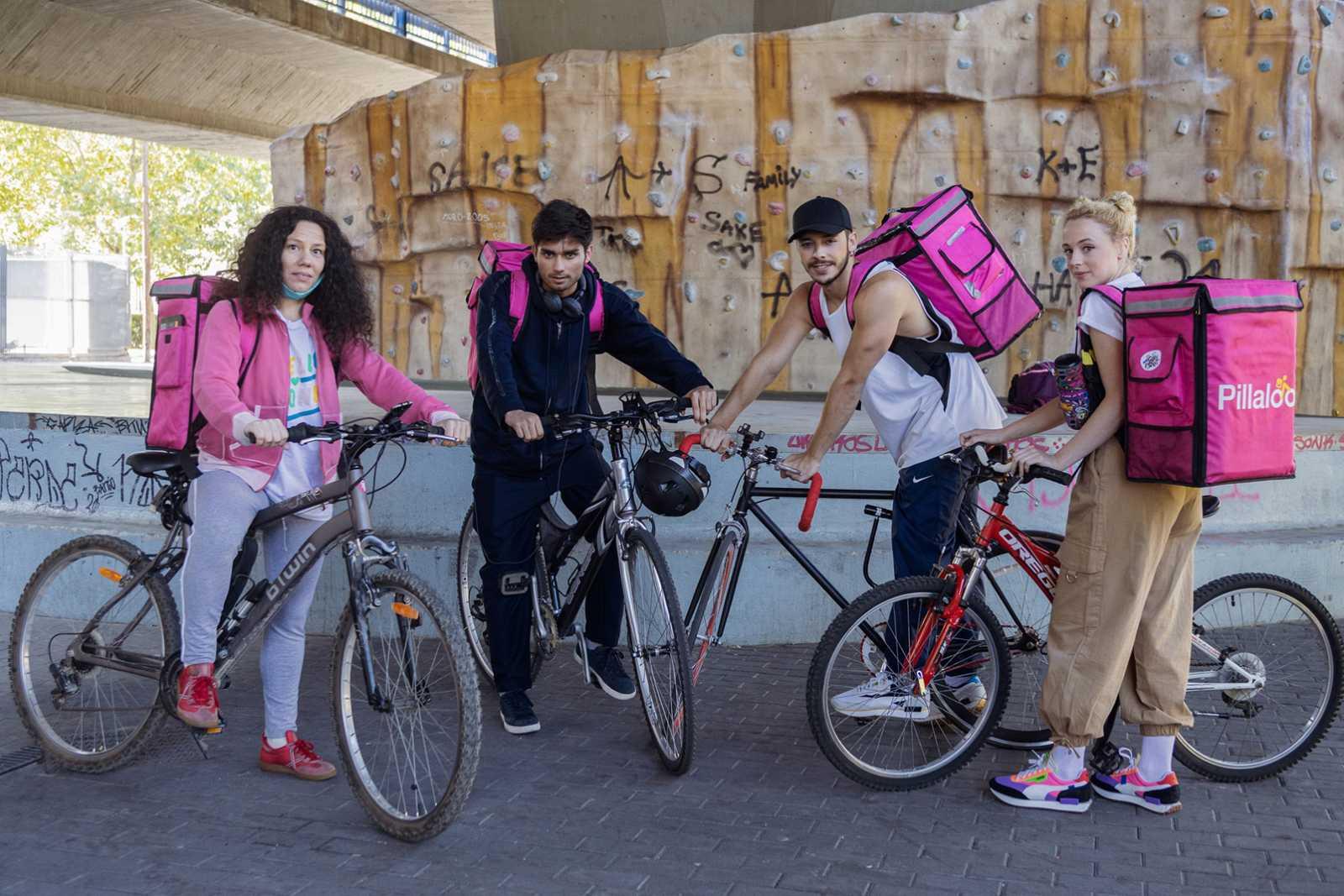 'Riderss' está protagonizada por Ismael Abadal, Catalina Sopelana y Germán Alcarazu