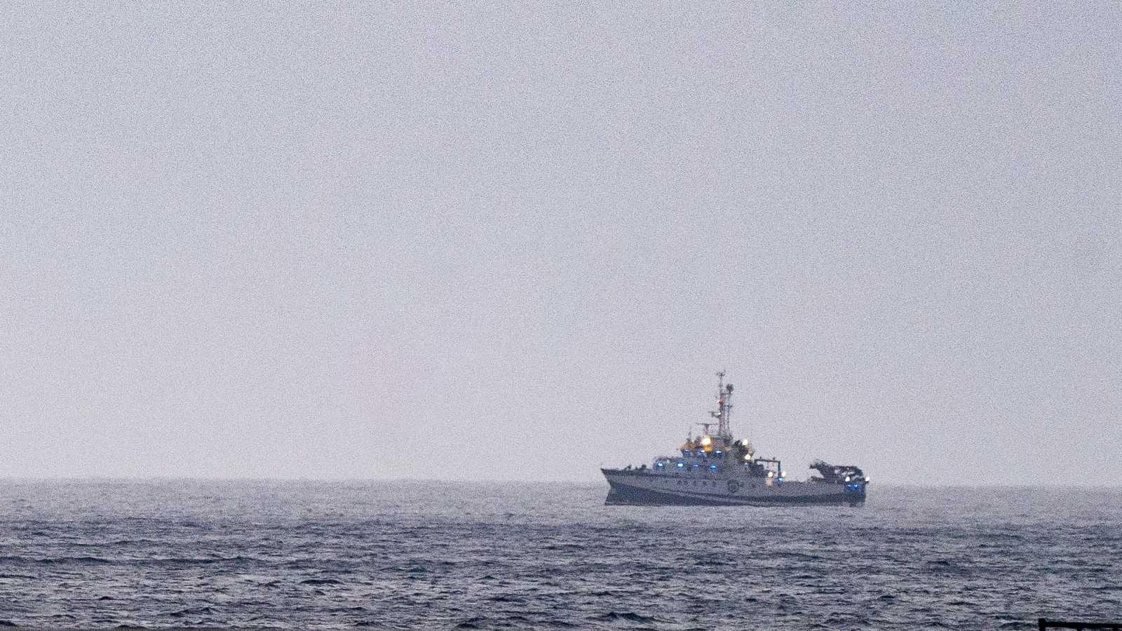 El buque oceanográfico que ha localizado en la zona donde se busca a las niñas Anna y Olivia