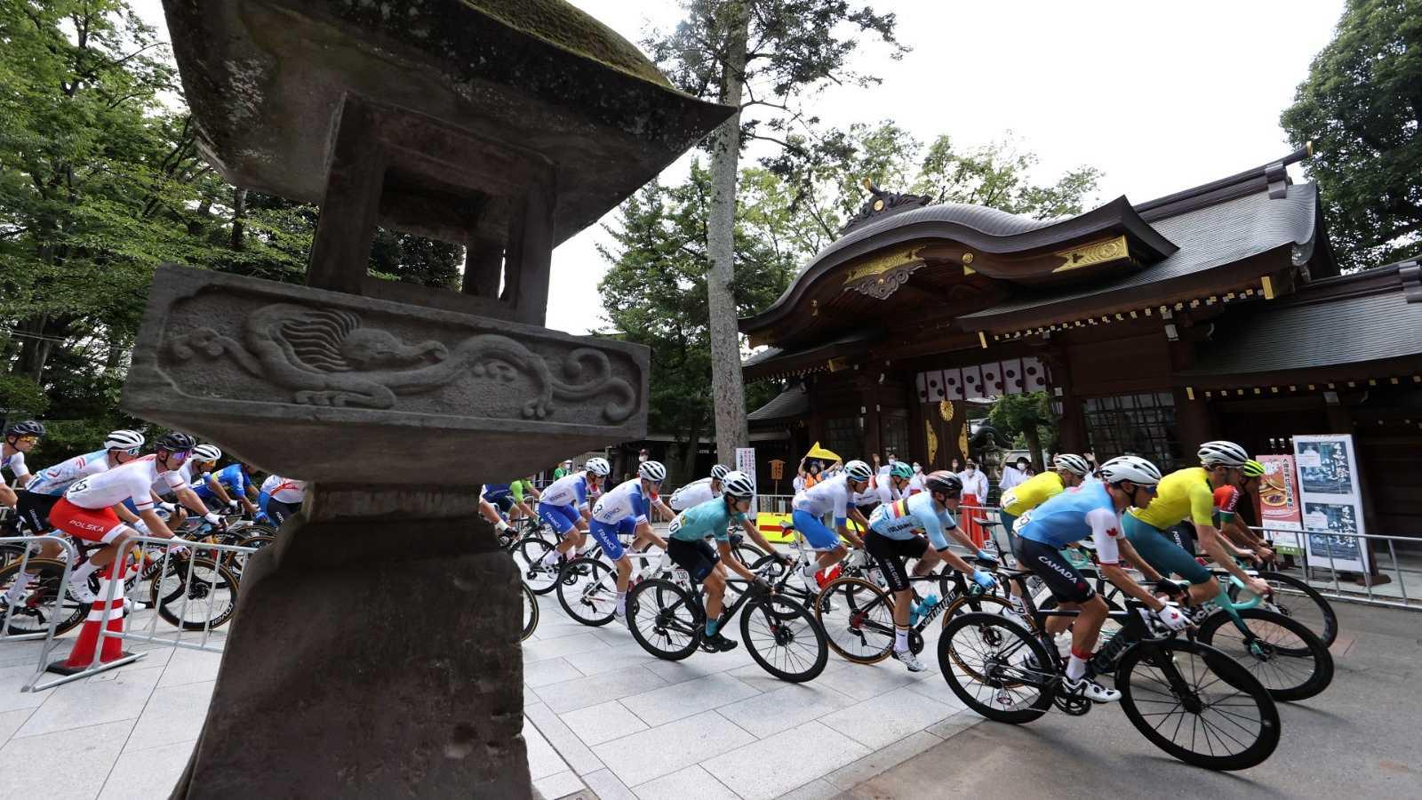 Tokyo 2020: El equipo español, con Valverde a la cabeza, busca el oro en la prueba de ciclismo en ruta