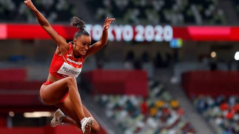 Imagen de la atleta española Ana Peleteiro en Tokyo 2020.