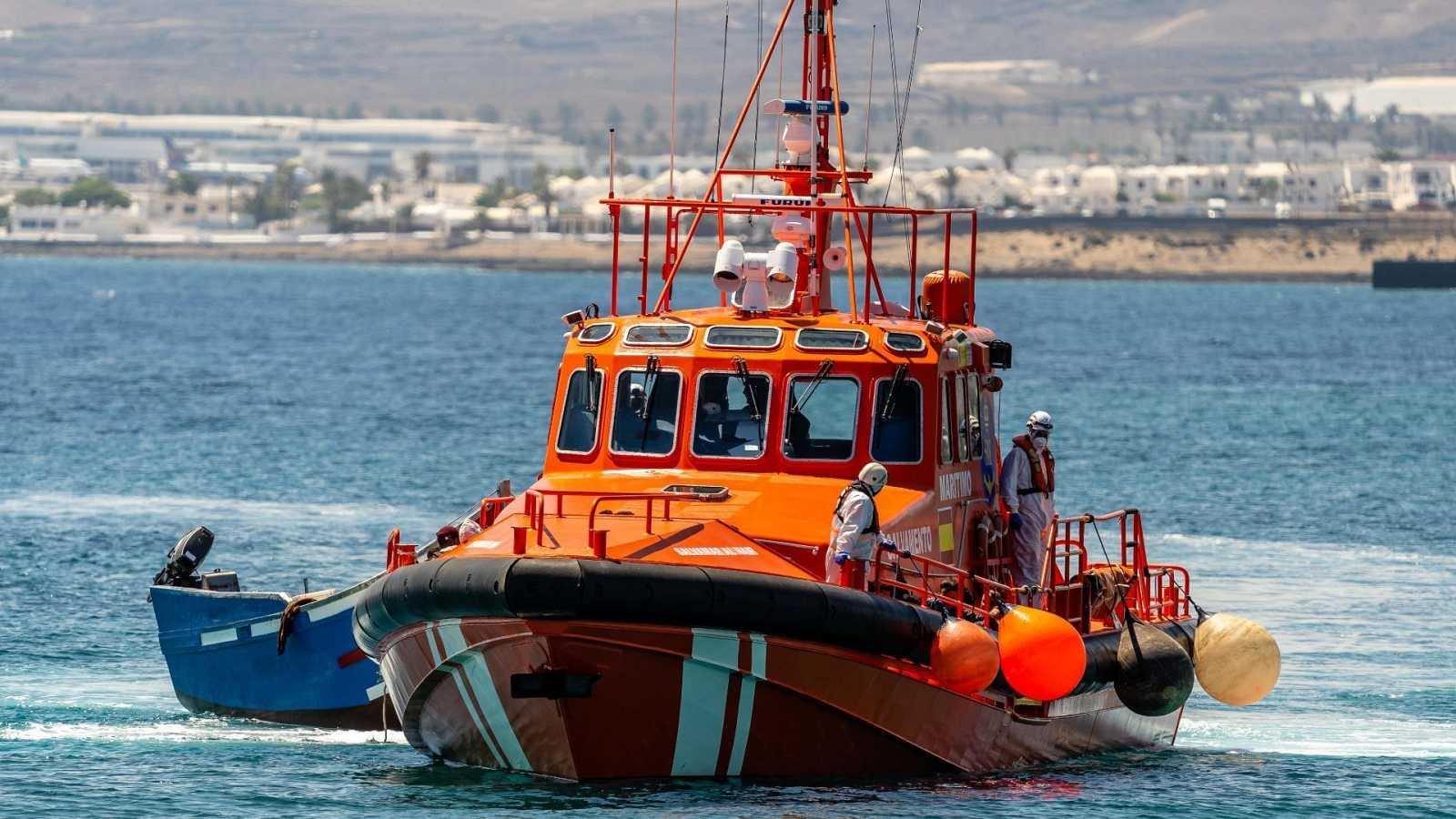 Imagen de archivo de un barco de Salvamento Marítimo.