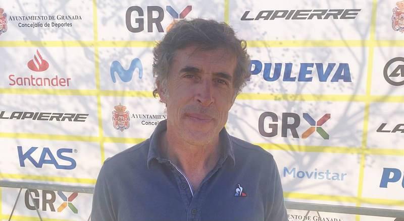Pedro Delgado, exciclista y comentarista de TVE.