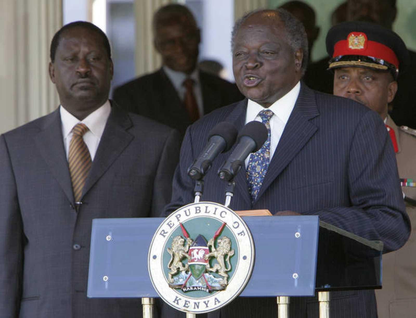 Odinga asume el cargo de primer ministro en el primer gobierno de coalición de Kenia