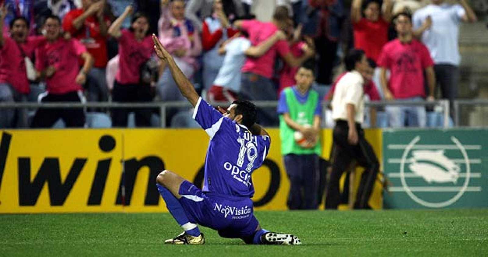 """Güiza imita a su ídolo Francisco Narváez """"Kiko"""" en la celebración de cada uno de sus goles."""