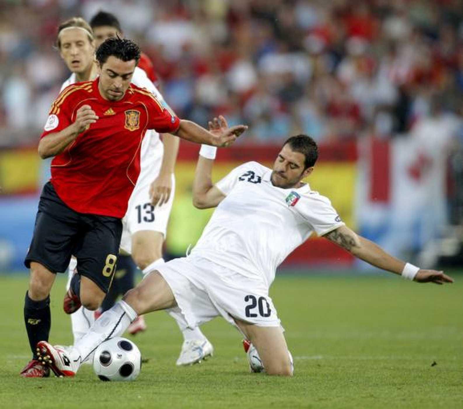 El centrocampista español, Xavi Hernández, estuvo peor que en otros partidos y fue sustituido en el minuto 58.