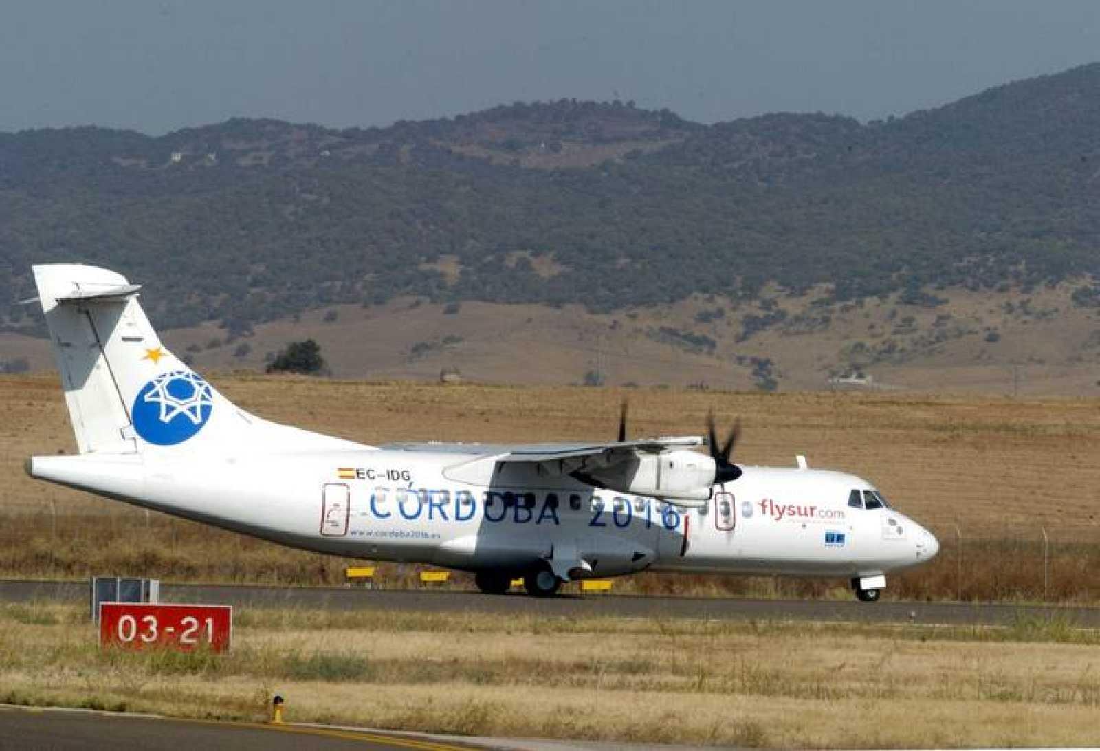 Despega entre las turbulencias económicas Flysur, la primera aerolínea  andaluza - RTVE.es