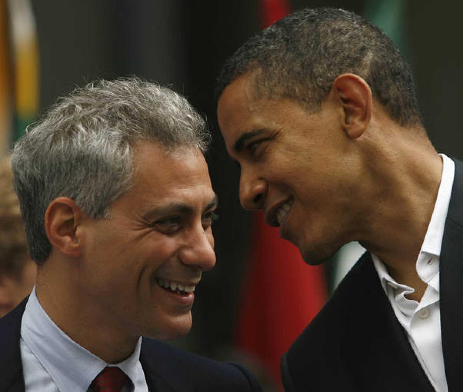 US Democratic presidential candidate Senator Barack Obama campaigns in Chicago