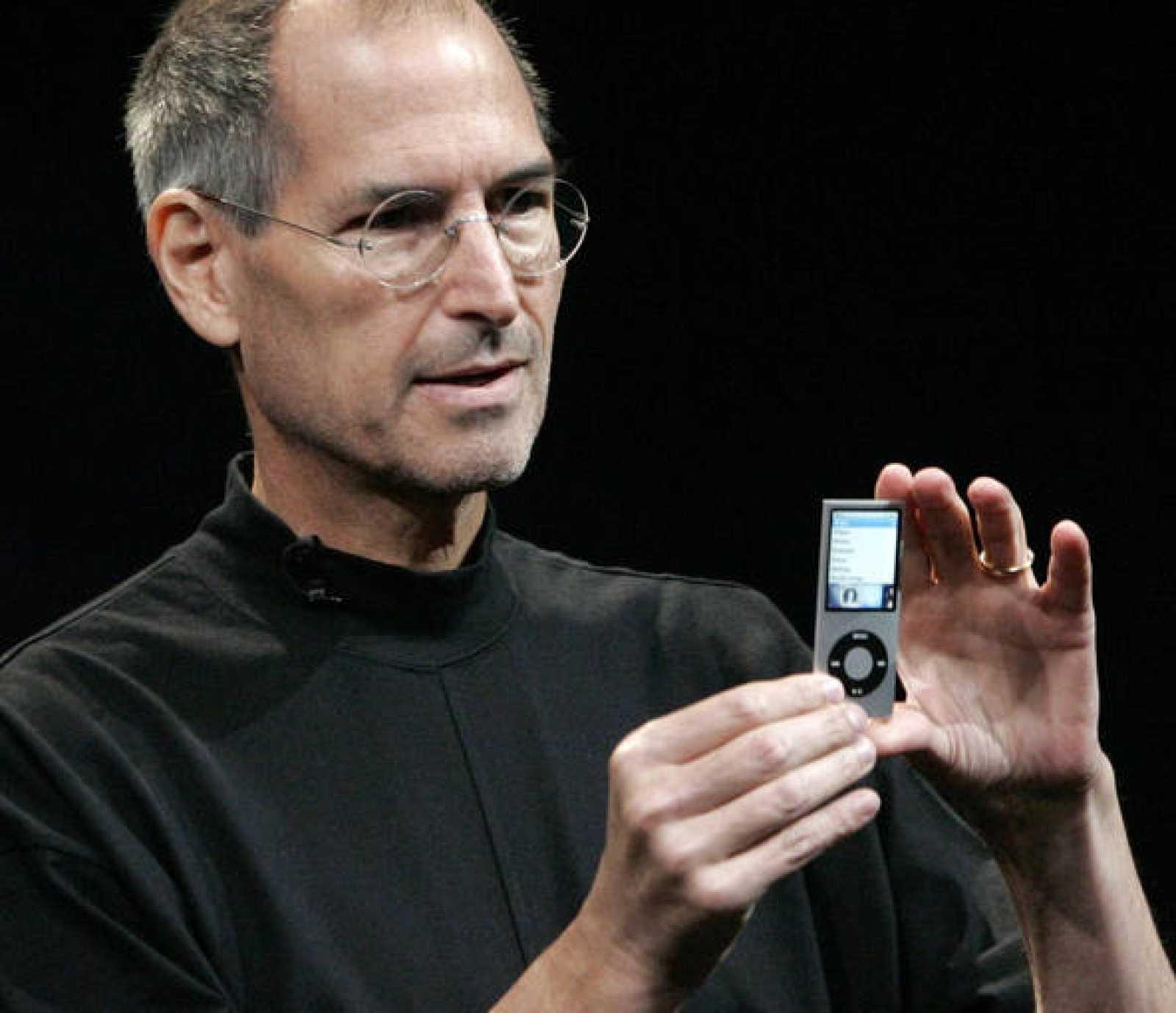Jobs, visiblemente más delgado, en un acto celebrado en septiembre de 2008.