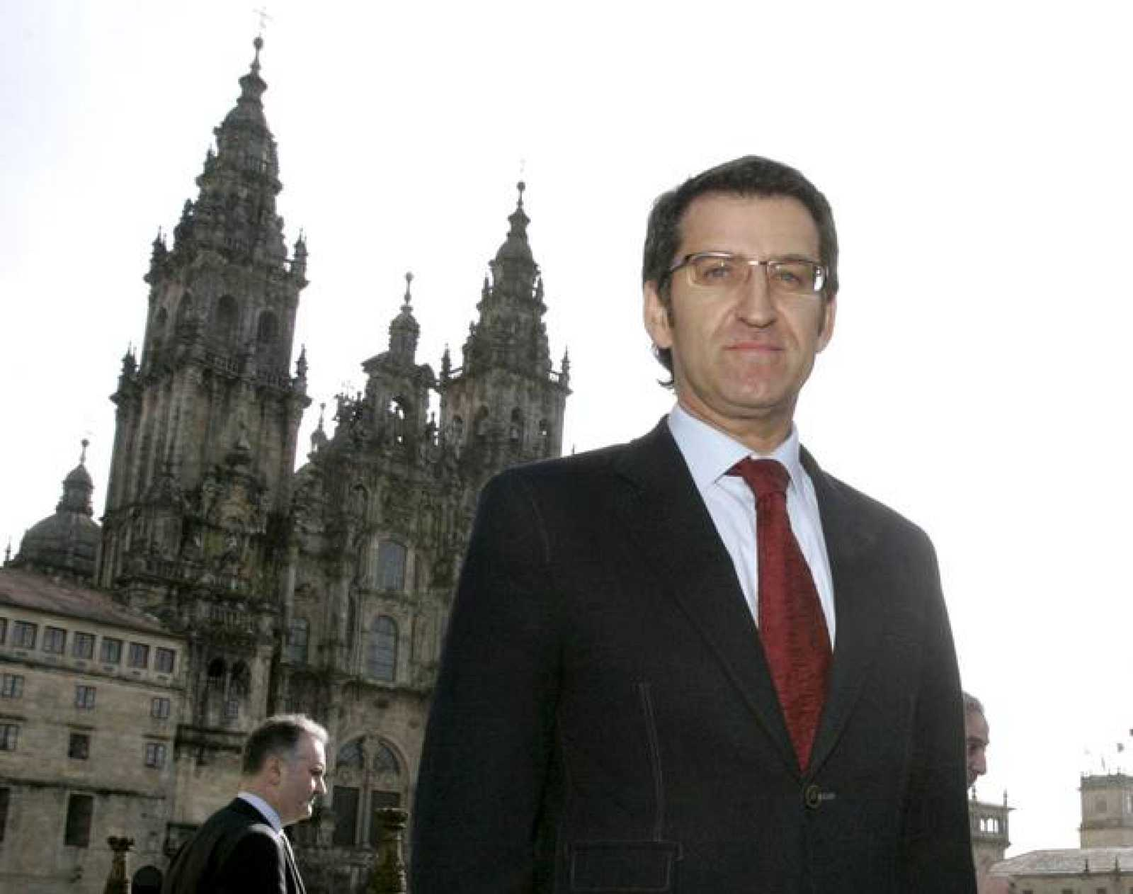 El candidato del PPdeG a la Presidencia de la Xunta, Alberto Núñez Feijóo.