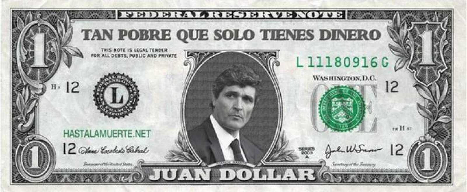 Un grupo de aficionados ha creado estos originales billetes para animar y 'encender' a los sevillistas que este sábado se enfrentan al Real Madrid.