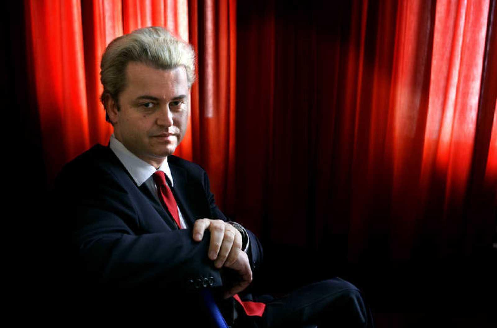 Geert Wilders, en la sede del parlamento holandés.