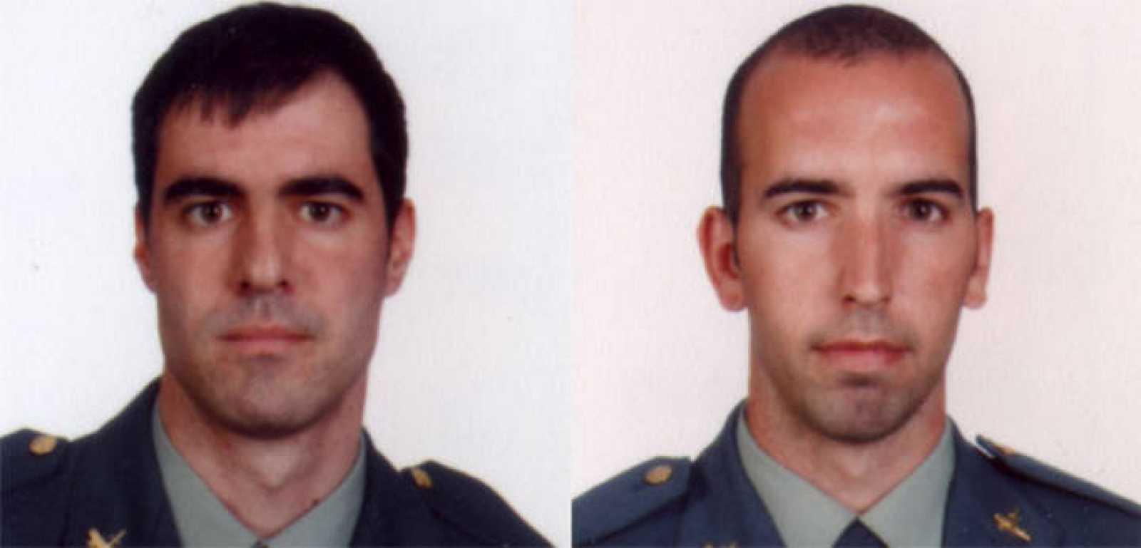 Los guardias civiles Carlos Sáenz de Tejada y Diego Salva Lezcaun han sido asesinados en el atentado de ETA en Mallorca.