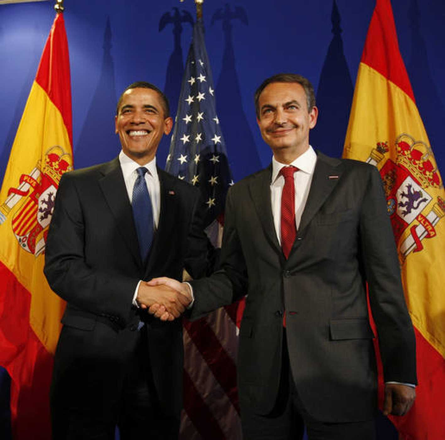 Obama y Zapatero, en su encuentro del pasado mes de abril en Praga.