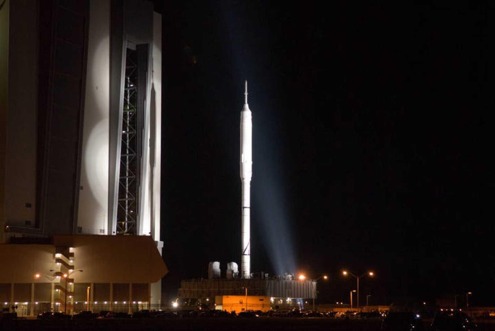 El Ares I-X, listo para su vuelo de prueba